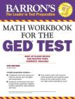 Math Workbook For The GED Test (Barron's AP) Cover Image