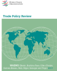 Trade Policy Review 2017: Waemu: (benin, Burkina Faso, Côte d'Ivoire, Guinea-Bissau, Mali, Niger, Senegal and Togo) Cover Image