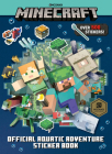 Minecraft Official Aquatic Adventure Sticker Book (Minecraft) Cover Image
