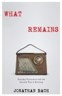What Remains: Everyday Encounters with the Socialist Past in Germany Cover Image