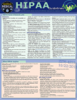 Hipaa Guidelines: A Quickstudy Laminated Reference Guide Cover Image