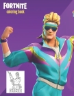 Fortnite Coloring Book: Amazing Fortnite Coloring Book for Kids and Adult. Cover Image