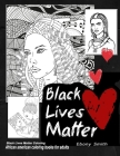 Black lives matter coloring African American COLORING BOOKS FOR ADULTS: Black women adults coloring book Cover Image