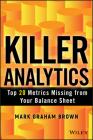 Killer Analytics (SAS) (Wiley and SAS Business) Cover Image