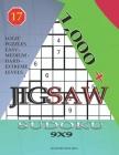 1,000 + sudoku jigsaw 9x9: Logic puzzles easy - medium - hard - extreme levels Cover Image