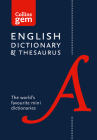 Collins Gem English Dictionary & Thesaurus Cover Image