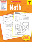 Scholastic Success With Math: Grade 1 Workbook Cover Image