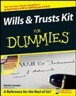 Wills and Trusts Kit for Dummies [With CDROM] Cover Image