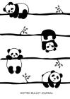 Cute Pandas - Dotted Bullet Journal: Medium A5 - 5.83X8.27 Cover Image