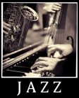 Notebook Jazz With Staff: Notebook with Staff - 150 pages - 8 X 10 inches ( 20.32 cm X 25.4 cm ) Cover Image