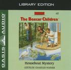 Houseboat Mystery (Library Edition) (The Boxcar Children Mysteries #12) Cover Image