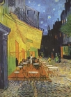 Van Gogh's Cafe Terrace at Night Notebook Cover Image