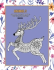 Mandala Coloring Books for Adults for Pens and Markers - Animals Cover Image