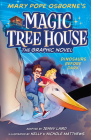 Dinosaurs Before Dark Graphic Novel (Magic Tree House (R) #1) Cover Image