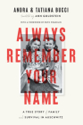 Always Remember Your Name: A True Story of Family and Survival in Auschwitz Cover Image