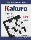 Kakuro: 500 Logic Puzzles (10x10): Keep Your Brain Young Cover Image