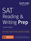 SAT Reading & Writing Prep (Kaplan Test Prep) Cover Image