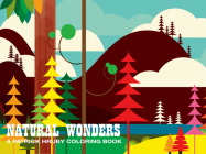 Natural Wonders: A Patrick Hruby Coloring Book Cover Image