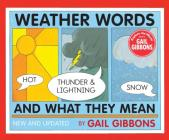 Weather Words and What They Mean (New Edition) Cover Image
