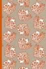 Notes: A Blank Lined Journal with Sleeping Cat Pattern Cover Art Cover Image