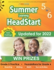 Summer Learning HeadStart, Grade 5 to 6: Fun Activities Plus Math, Reading, and Language Workbooks: Bridge to Success with Common Core Aligned Resourc Cover Image