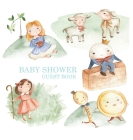 Nursery Rhyme Baby Shower Guest Book Cover Image