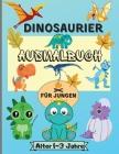 Dinosaurier-Malbuch für Jungen im Alter von 1-3 Jahren: Erstaunlich Dinosaurier Färbung Seiten für Kinder mit 50 Designs perfekt für Ihre kleinen Dino Cover Image