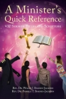 A Minister's Quick Reference: 432 Sermon Titles and Scripture Cover Image
