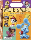 Nickelodeon: Write and Wipe: Learn with Us! Cover Image