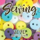 Sewing 2020 Mini Wall Calendar Cover Image