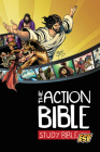 The Action Bible Study Bible ESV (Hardcover) Cover Image