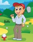 Livro para Colorir de Golfe Cover Image