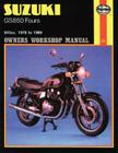 Suzuki GS850 Fours Owners Workbook Manual, No. 536:  '78 to '88 (Owners' Workshop Manual) Cover Image
