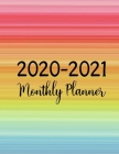 2020-2021 Monthly Planner: Jan 2020 - Dec 2021 2 Year Daily Weekly Monthly Calendar Planner - To-Do List Academic Schedule Agenda Logbook Or Stud Cover Image
