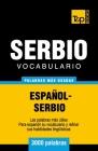 Vocabulario español-serbio - 3000 palabras más usadas Cover Image