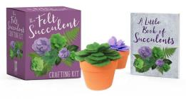 The Felt Succulent Crafting Kit (RP Minis) Cover Image