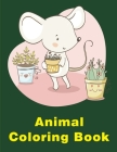 Animal Coloring Book: The Really Best Relaxing Colouring Book For Children Cover Image