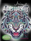 Adult coloring book stress relieving animal designs: Intricate coloring books for adults, animal coloring books for adults: Coloring book for adults s Cover Image