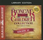 The Boxcar Children Collection Volume 32 (Library Edition): The Ice Cream Mystery, The Midnight Mystery, The Mystery in the Fortune Cookie Cover Image