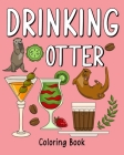 Drinking Otter Coloring Book Cover Image