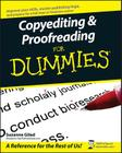 Copyediting and Proofreading for Dummies Cover Image