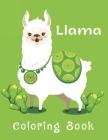 Llama Coloring Book: Beautiful Coloring Book for Llama Lovers. Cover Image