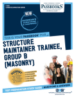 Structure Maintainer Trainee, Group B (Masonry) (Career Examination) Cover Image
