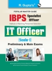 IBPS (Specialist Officer) IT Officer (Scale I) Preliminary & Main Exam Guide Cover Image
