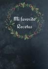 Mi favorito Recetas Cover Image
