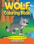 Wolf Coloring Book: Nature Coloring Book Edition Cover Image