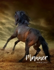 Horse Planner 2021: Nifty Planner & Calendar + Agenda Organizer, Weekly & Monthly Academic Planner 2021, Calendar Schedule 2021, 12-Month Cover Image