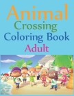 Animal Crossing Coloring Book Adult: Animal Crossing New Horizons Coloring Book Cover Image