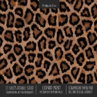 Leopard Print Scrapbook Paper Pad 8x8 Scrapbooking Kit for Cardmaking Gifts, DIY Crafts, Printmaking, Papercrafts, Decorative Pattern Pages Cover Image