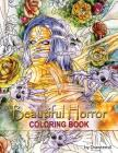 Beautiful Horror Coloring Book Cover Image